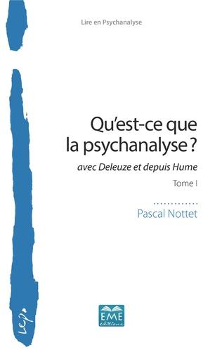 Couverture Qu'est-ce que la psychanalyse?