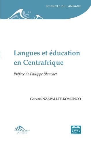 Couverture Langues et éducation en Centrafrique
