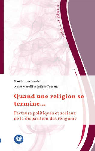 Couverture When a Religion Comes to an End: An Introduction