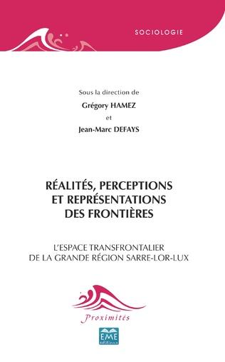 Couverture Réalités, perceptions et représentations des frontières