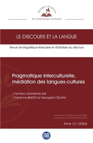 Couverture Pragmatique interculturelle, médiation des langues-cultures