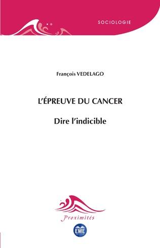 Couverture L'épreuve du cancer