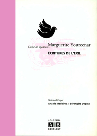 Couverture Marguerite Yourcenar