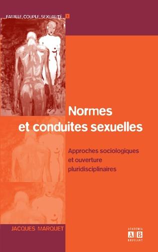 Couverture Normes et conduites sexuelles