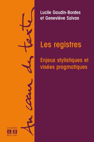 Couverture LES REGISTRES