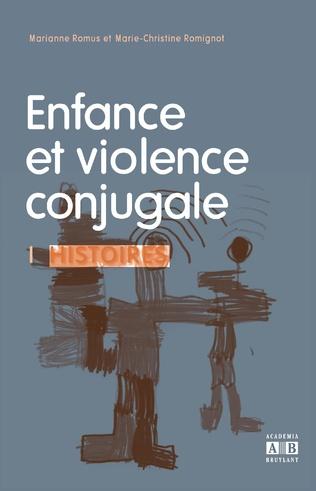 Couverture ENFANCE ET VIOLENCE CONJUGALE
