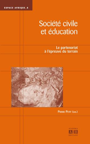 Couverture Société civile et éducation
