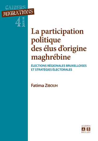 Couverture La participation politique des élus d'origine maghrébine