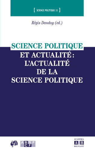 Couverture Chapitre 5 - Science politique et actualité, quelles méthodes?