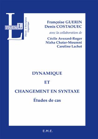 Couverture Dynamique et changement en syntaxe