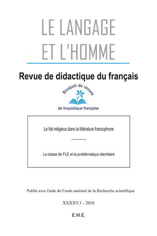 Couverture Le fait religieux dans la littérature francophone