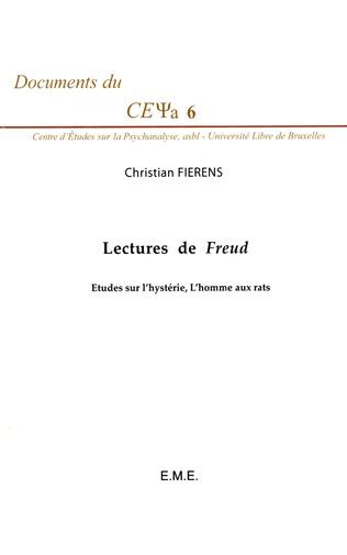 Couverture Lectures de Freud