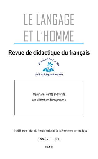 Couverture Marginalité, identité et diversité des littératures francophones