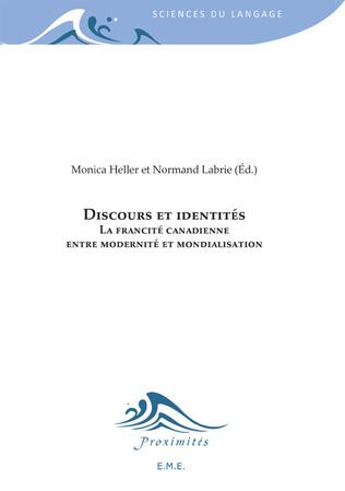 Couverture Discours et identités