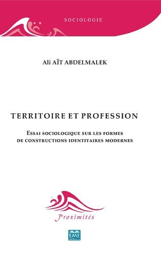Couverture Territoire et profession