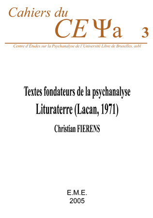 Couverture Textes fondateurs de la psychanalyse :
