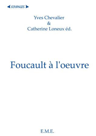 Couverture Foucault a l'oeuvre