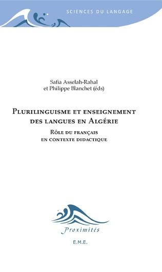 Couverture Plurilinguisme et enseignement des langues en Algérie