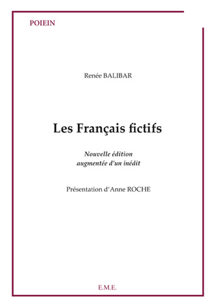Couverture Les français fictifs