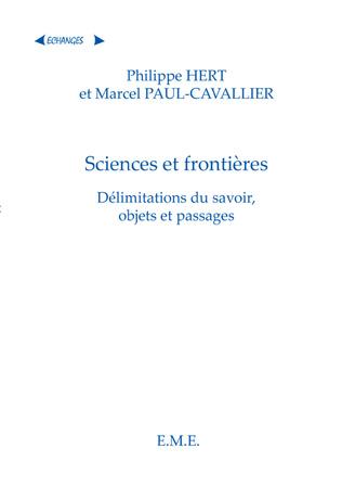Couverture Sciences et frontieres