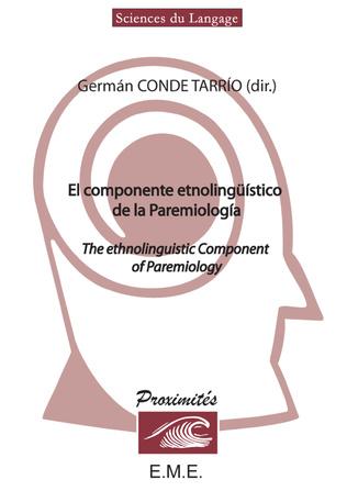 Couverture El componente etnolingüístico de la paremiologia