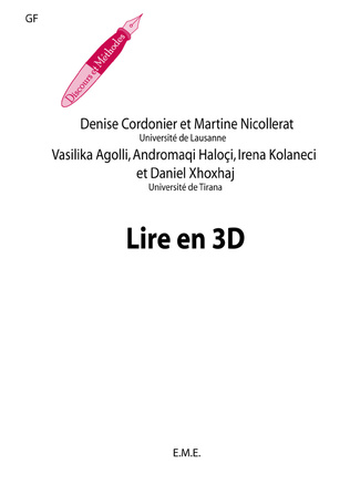 Couverture Lire en 3 D