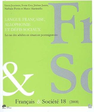Couverture Langue française, allophonie et défis sociaux