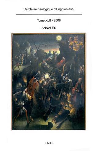 Couverture Annales du Cercle archéologique d'Enghien XLII