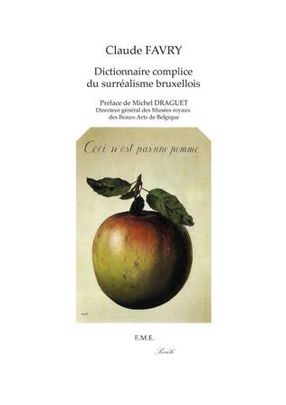 Couverture Dictionnaire complice du surréalisme bruxellois