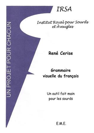 Couverture Grammaire visuelle du français