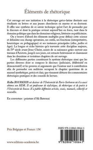 4eme Eléments de rhétorique