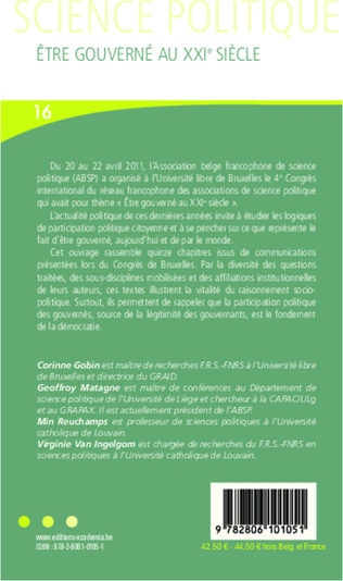 4eme Chapitre 11 - Le salariat étudiant: zone grise du syndicalisme français?