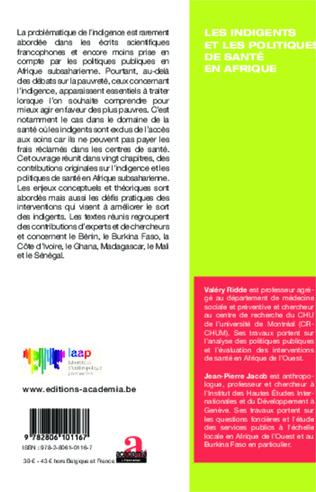 4eme Les critères d'identification des indigents des agents burkinabè de première ligne (santé, action sociale)