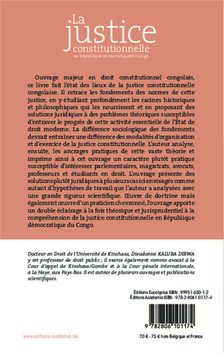 4eme Justice constitutionnelle en République Démocratique du Congo