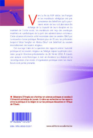 4eme Politique et marabouts au Sénégal : 1854-2012