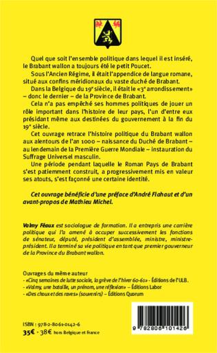 4eme Histoire politique du Brabant wallon