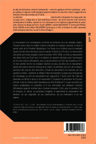 4eme Le mouvement noir au Brésil (2000-2010)