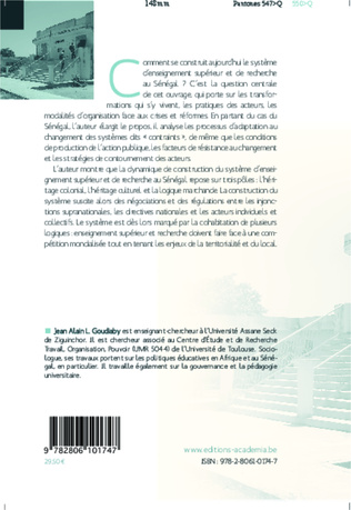 4eme L'université et la recherche au Sénégal à la croisée des chemins
