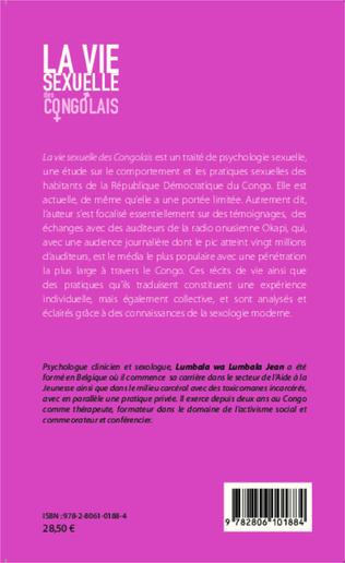 4eme La vie sexuelle des Congolais