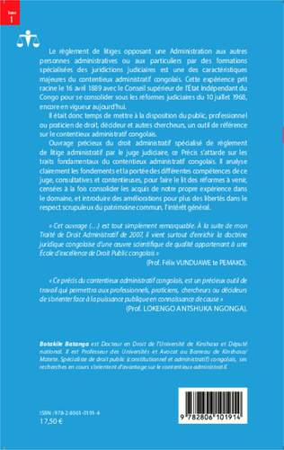 4eme Précis du contentieux administratif congolais
