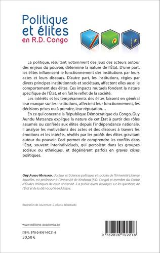 4eme Politique et élites en R.D. Congo