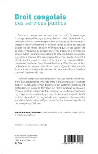 4eme Droit congolais des services publics
