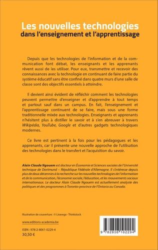 4eme Les nouvelles technologies dans l'enseignement et l'apprentissage