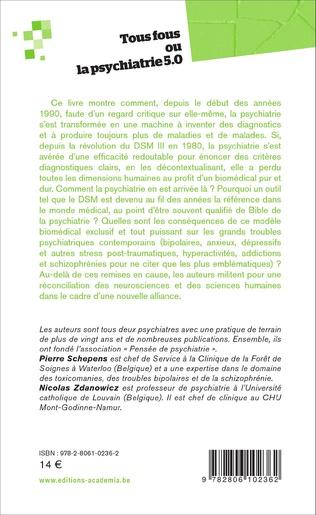 4eme Tous fous ou la psychiatrie 5.0