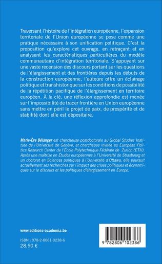 4eme Territoires européens : discours et pratiques de l'élargissement
