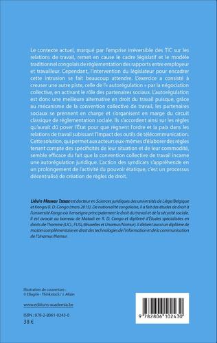 4eme Droit du travail congolais face à l'usage des technologies de l'information et de la communication