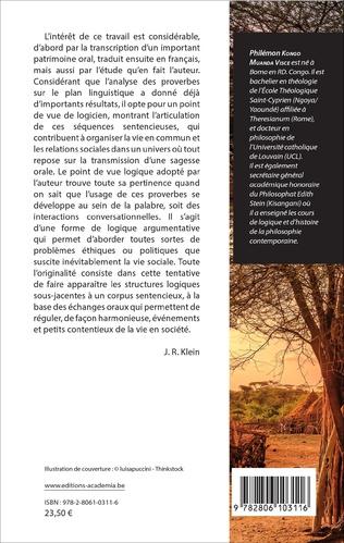 4eme Corpus parémique Yombe