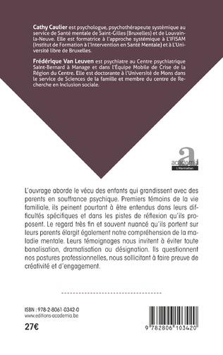 4eme GRANDIR AVEC DES PARENTS EN SOUFFRANCE PSYCHIQUE