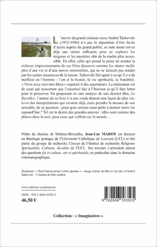 4eme Le SACRIFICE D'ANDREI TARKOVSKI