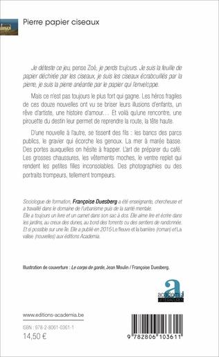 4eme Pierre papier ciseaux. Nouvelles